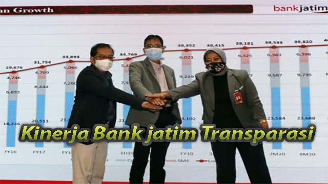 Kinerja Bank jatim Transparasi