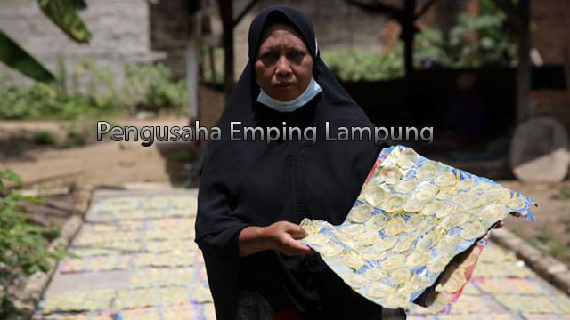 Pengusaha Emping Lampung